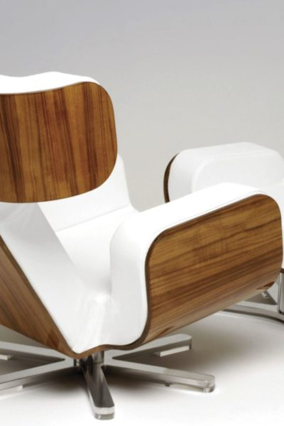 Wing Lounge Chair Inspired By Nasa Material